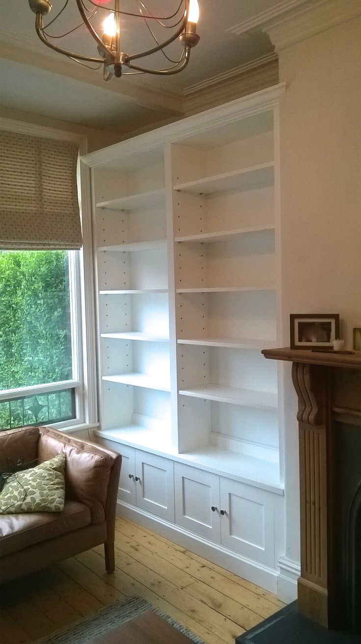 Living room furniture.Fitted Alcoves. Alcove Cabinets #livingroom  #alcovecabinet Bespoke alcove @ gillmartinez.com Manchester