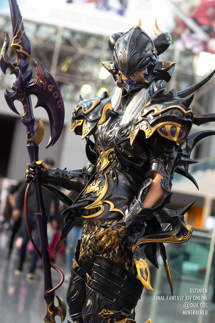 Our Favorite Cosplay From Anime NYC 2019 Final fantasy