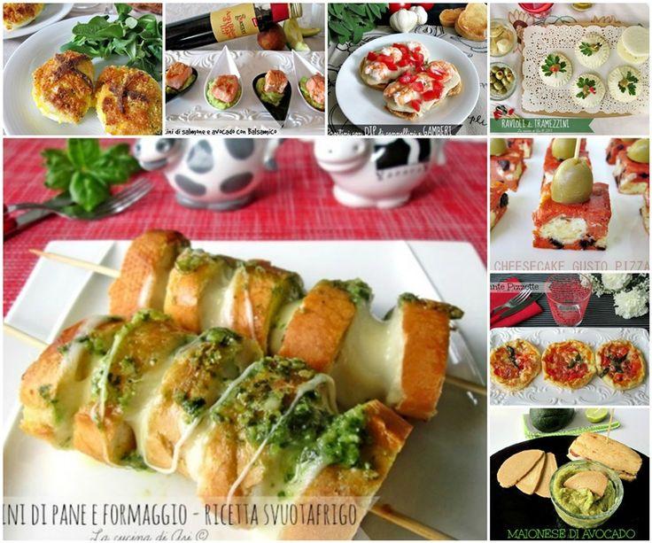 antipasti MISTI raccolta ricette n°2 La cucina di ASI