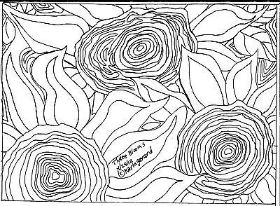 TAPETE-gancho-papel-padrao-tres-flores-Resumo-primitivo-arte-popular-Karla-G