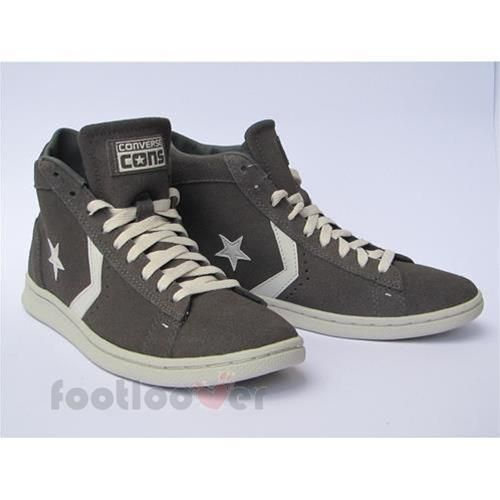 converse star player leather mid