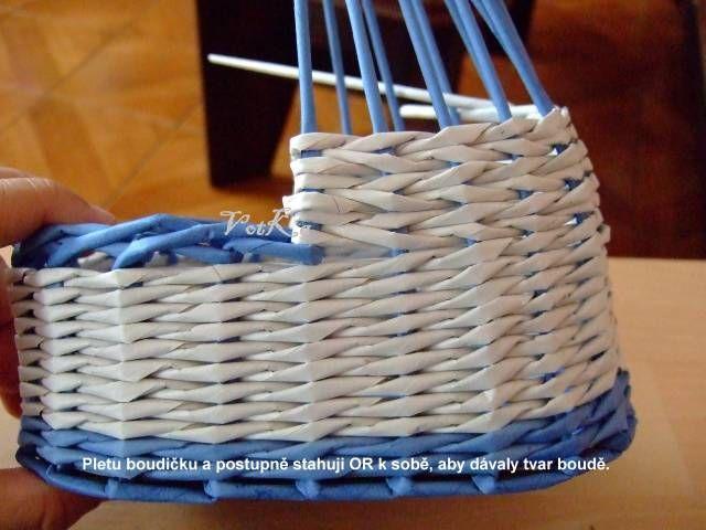 Коляска из газет. Мастер-класс. - Плетение из газетных трубочек - Поделки из бумаги - Каталог статей - Рукодел.TV