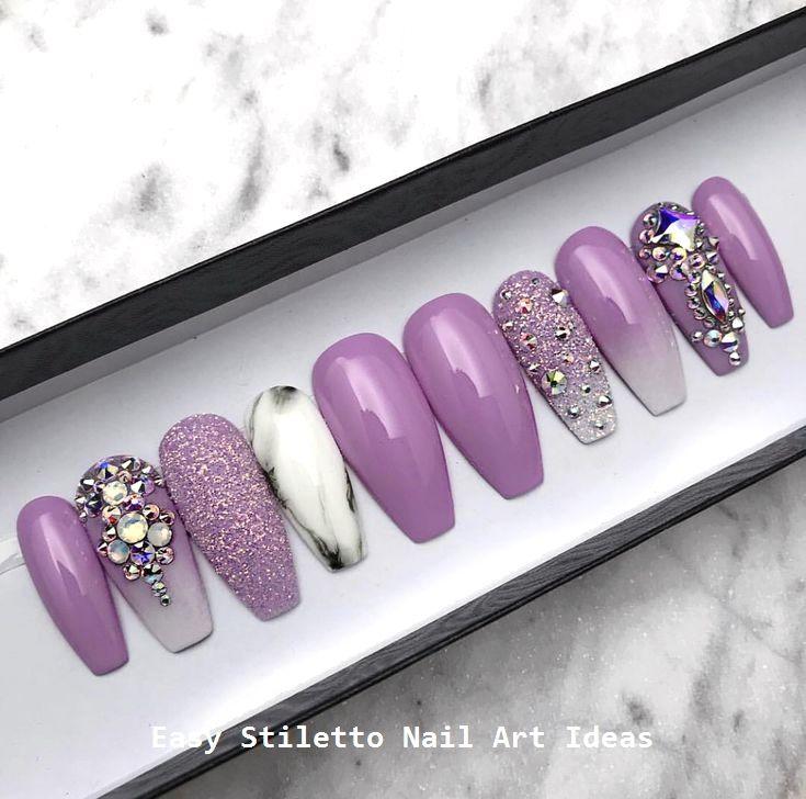 30 große Stiletto Nail Art Design-Ideen #nailart – Stiletto Nails