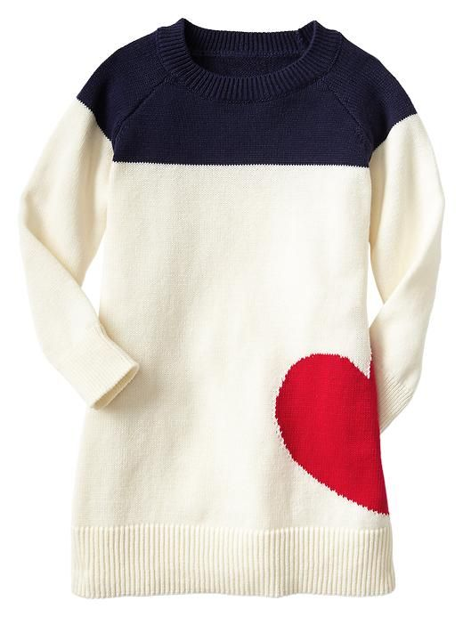 Heart Sweater Dress http://rstyle.me/~1lTrf