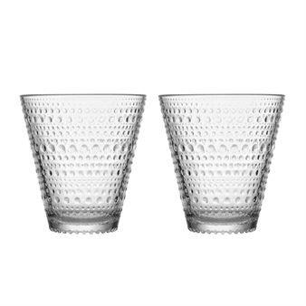 Kastehelmi glas 30 cl 2-pack - klar - Iittala