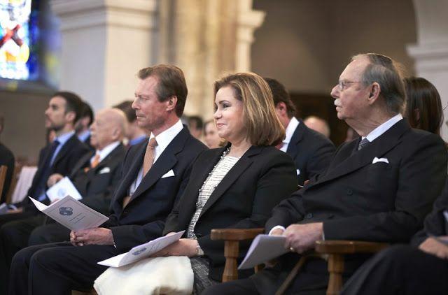 Великий герцог Анри, великая герцогиня Мария Тереза и Великий герцог Люксембургский Жан