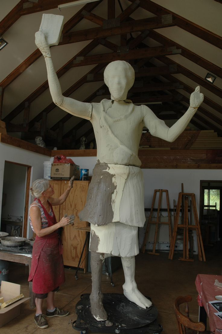 King Somhlolo said in his vision it was made clear that Swazis should pick the Bible and steer clear of money. King Somhlolo, also known as King Sobhuza I, reigned between 1815 and 1836. Sarah is now busy on this stunning 3m high bronze.