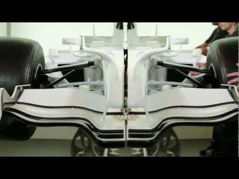Cutaway F1 Race Car