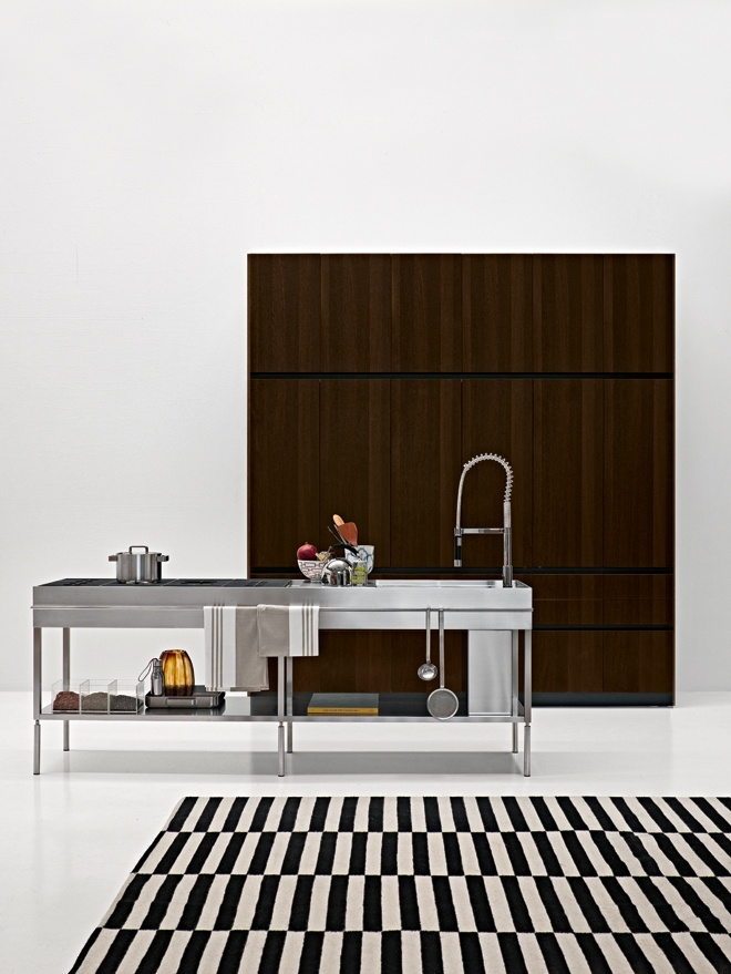 Slim - Elmar Kitchen - Designe by Ludovica + Roberto Palomba
