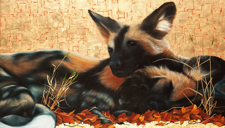 AFRICAN WILD DOG PAINTINGS | Oil Paintings Marc Alexander Wild-Dogs-II – Marc Alexander - South ...