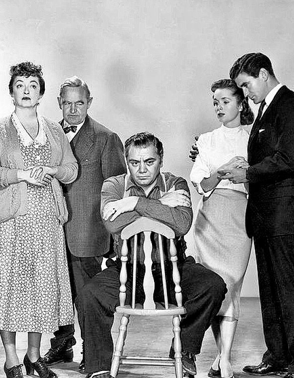 Bette Davis Barry Fitzgerald Ernest Borgnine Debbie Reynolds