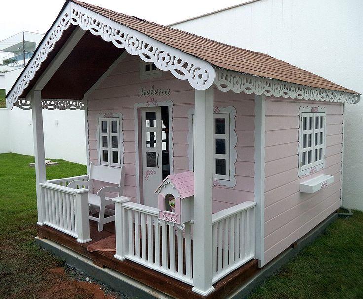 Casinhas de Boneca João e Maria -Especializada na fabricação de casinhas infantis, playgrounds, mini cidade!