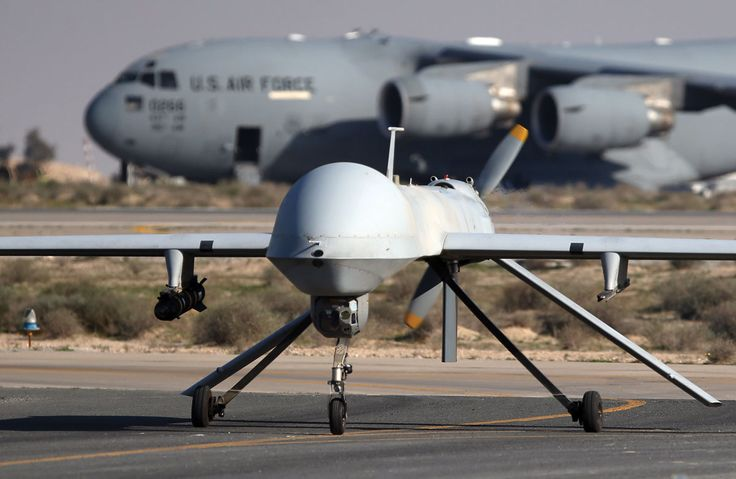 U.S. Clears Sale of Guardian Drones to India A U.S. Air Force MQ-1B Predator unmanned aerial vehicle (UAV), carrying a Hellfire air-to-surface missile lands at a secret air base in the Persian Gulf region on Jan. 7, 2016. (John Moore/Getty Images)    The U.S. has cleared the sale of predator Guardian drones to India to enhance its maritime surveillance capabilities, http://siliconeer.com/current/u-s-clears-sale-of-guardian-drones-to-india/