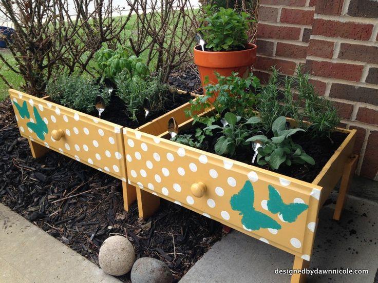 Raised Herb Garden Ideas 13 best childrens nature garden images on pinterest | recycled