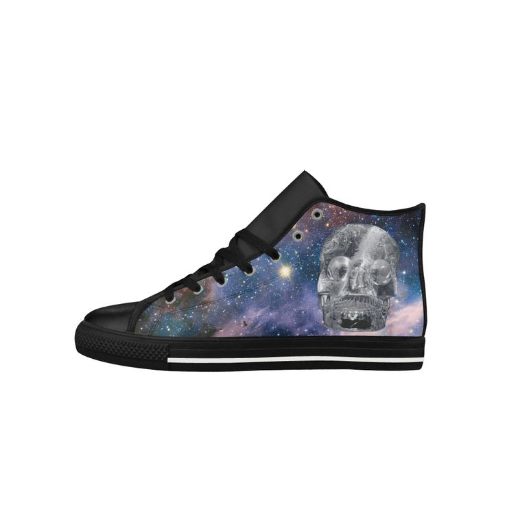Crystal Skull Aquila High Top Men Shoes