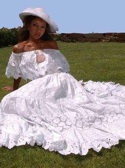 Robe femme créole, antillaise Anemone - Dodyshop