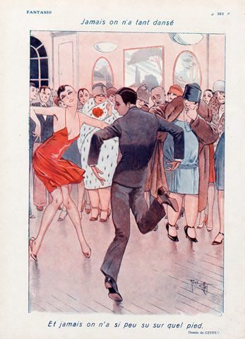René Giffey 1928 Roaring Twenties Dance Charleston