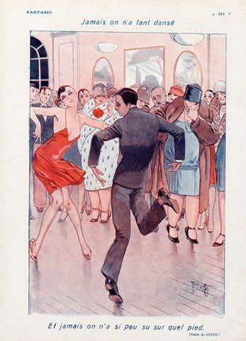 René Giffey 1928 Roaring Twenties Dance Charleston