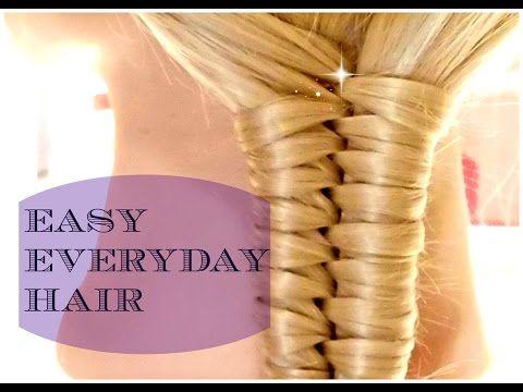 Peinados muchachas lindas para el verano largo y pelo: Medio - TUTORIALE Crix - YouTube