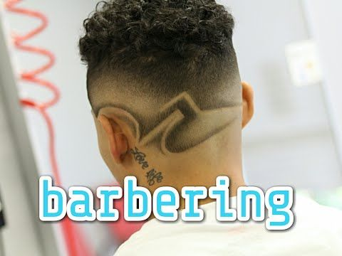 How to do Faded Design Haircut | Barber Tutorial - YouTube