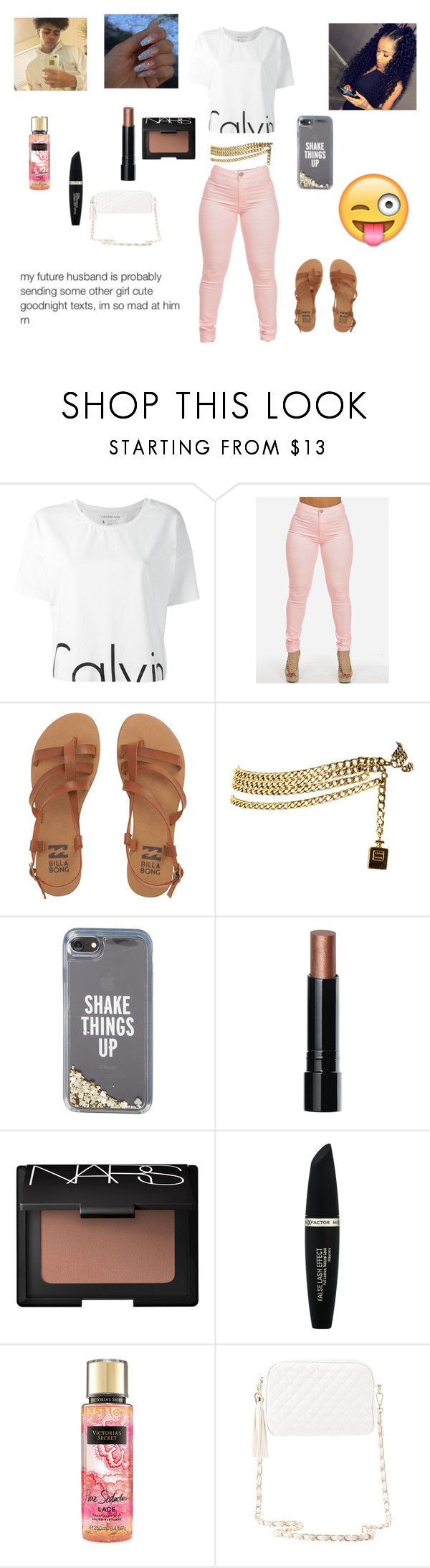 """""""I Dont Shine I Sparkle !!!!!"""" by queenraina1 ❤ liked on Polyvore featuring Calvin Klein Jeans, Billabong, Chanel, Kate Spade, Bobbi Brown Cosmetics, NARS Cosmetics, Max Factor and Charlotte Russe"""