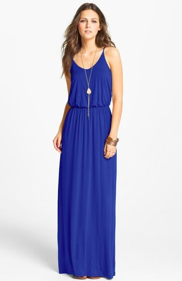 Nordstrom Half Yearly Sale Lush Knit Maxi Dress $38.90