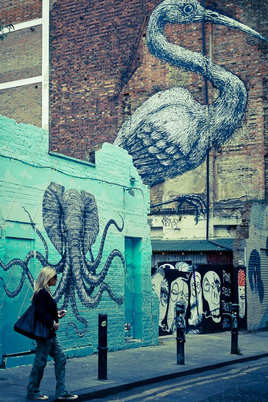 Street art à Londres : ma balade dans l'east end