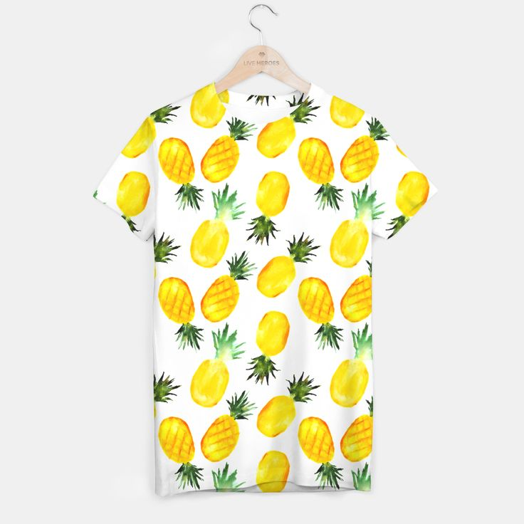 Pineapple vibes T-shirt, Live Heroes