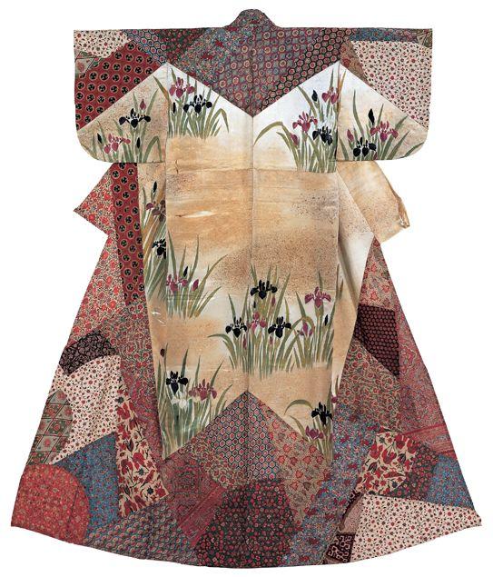 Japanese kosode kimono, Edo period 着物, 小袖, 江戸時代, 日本