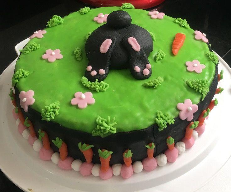 Taart met konijn - Cake with rabbit