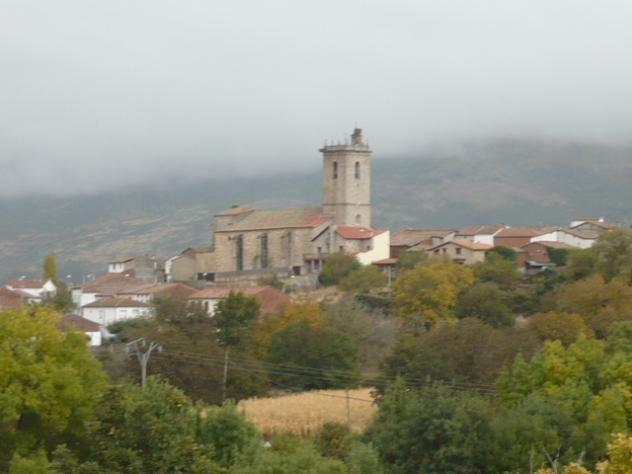 La Iglesia de Becedas, bajo la advocación de la Inmaculada Concepción. Está declarada Bien de Interés Turístico.