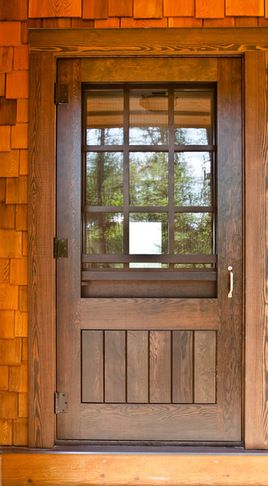 craftsman style screen doors | Photos of Craftsman Style Security Screen Door