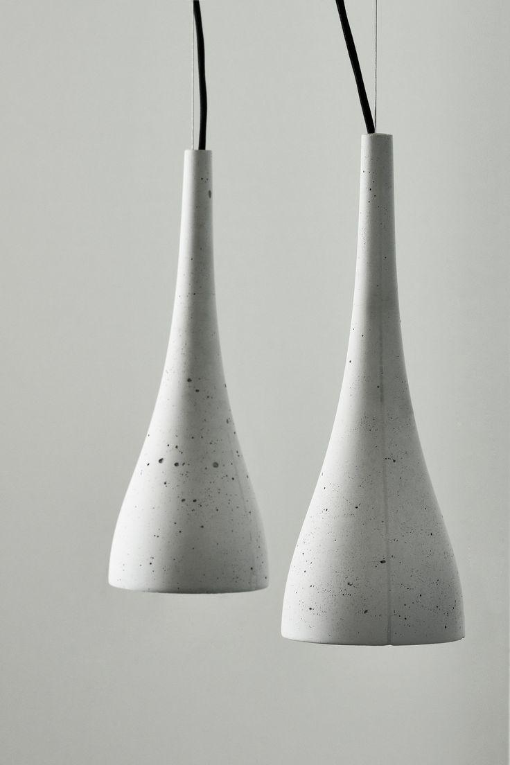 Ocun By gravelli, concrete pendant lamp design Tomáš Vacek