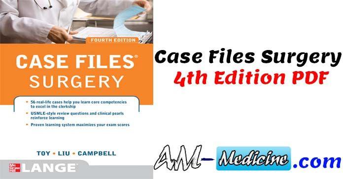 Case Files Surgery 4th Edition PDF Free Download   PDF Free