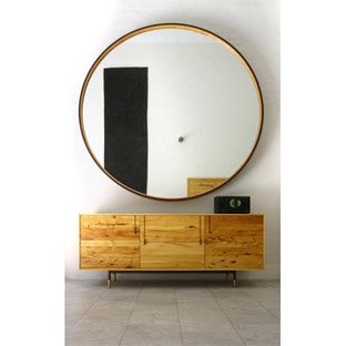 LEATHER MIRROR | Dwell