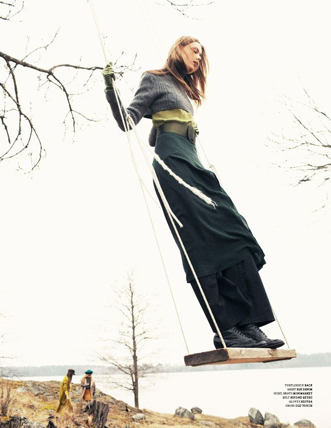 "stylin in warm layers: ""Frida Gustavsson by Andreas Öhlund for Stockholm S/S/A/W 2012"""