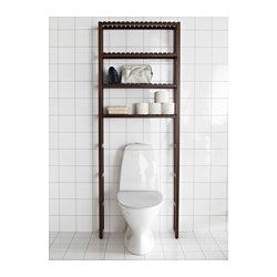 Woody could make me something like this easily! MOLGER Open storage - dark brown - IKEA