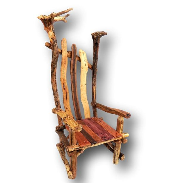 Deadwood rustic throne rustic furniture Etsy listing at https://www.etsy.  Rustic Wood BenchReclaimed ... - 29 Best Rustic Furniture, Deadwood Collection Images On Pinterest