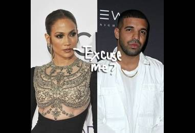 Oh Shit!! Drake Gets Close To A Beautiful Brunette Who Is NOT Jennifer Lopez!
