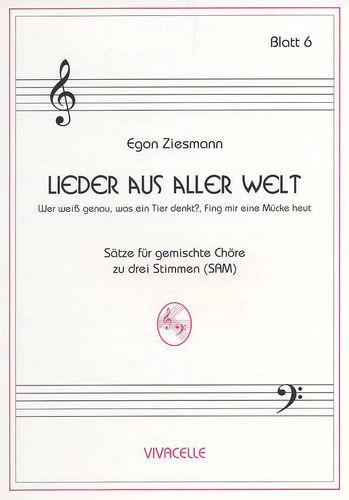 Ziesmann, Egon - Lieder aus aller Welt - Heft 6