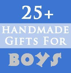 Great ideas for boy (or girl) stuff