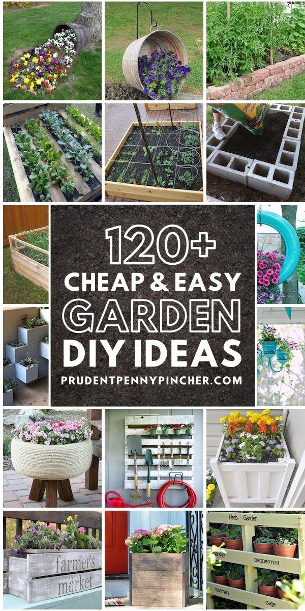 120 Cheap And Easy Diy Garden Ideas In 2020 Diy Garden Easy