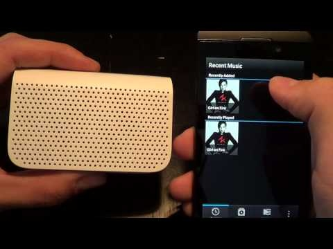 BlackBerry Mini Bluetooth Speaker