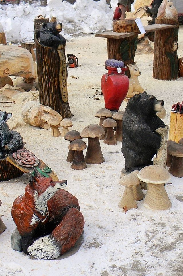 Best chainsaw carvers rendezvous images on pinterest