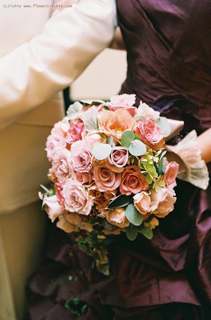 新郎新婦様からのメール 秋と紫 グランドハイアット様へ : 一会 ウエディングの花