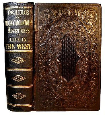 1866 OLD WEST PIONEER BUFFALO HUNT INDIAN MASSACRE FUR TRADE LDS GOLD CALIFORNIA in Books, Antiquarian & Collectible   eBay