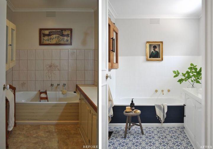 Paint Is Power Bathroom Before After Bathroom Before After Bathroom Renovation Diy Bathroom Makeover