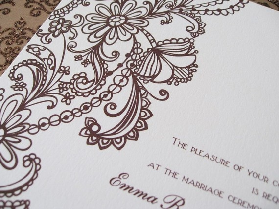 Vintage Wedding Invitations by Whimsicalprints on Etsy, $2.50