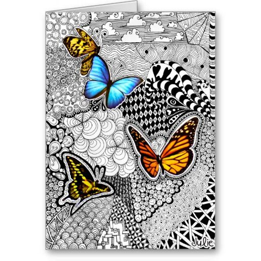 116 Best Zentangle Greetings Cards Images On Pinterest