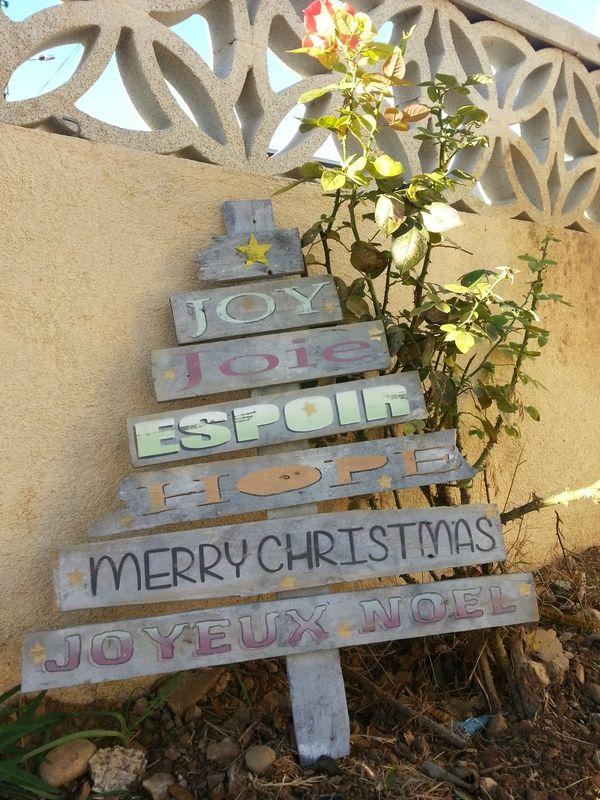 Recup : Palett Sign Christmas - Trouvé sur crea2moa.canalblog.com